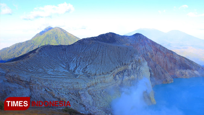 Ijen Crater. (Picture by: Dokumen TIMES Indonesia)