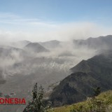 Enjoying the Beauty of Bromo from P-30 Probolinggo