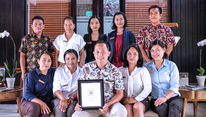 The Sanctoo Villas and Spa Bali Raih Certificate of Excellence Tripadvisor 2019
