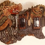 Barong Blueberry Guitar by I Wayan Tuges Tour d' Europe
