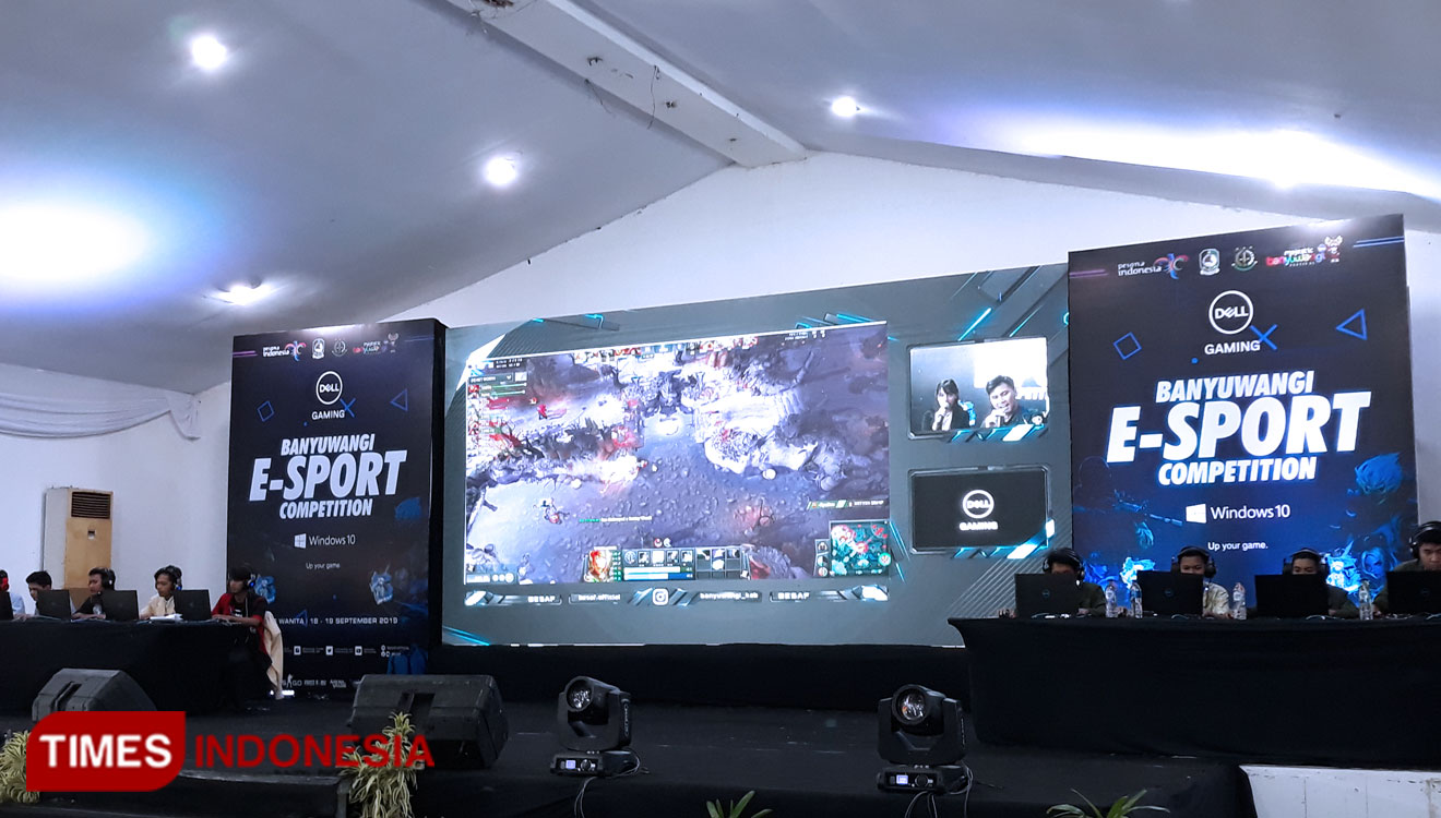The Banyuwangi E-sport Competition 2019 for The Online Game Addicts