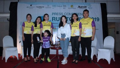 Program Kids Dash! Ceriakan Run To Give Marriott International 2019