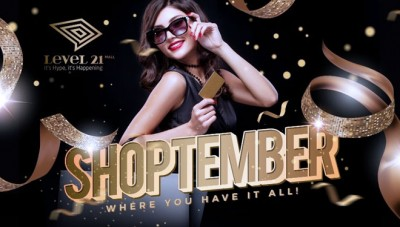 Enjoy a Fancy Shopping with Shoptember Program at Level 21 Mall Bali