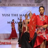 Yusi The Mantra X Metamorph Memukau Pengunjung di Malang Fashion Runway 2019 Matos