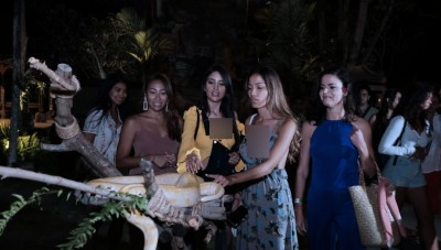 Miss Universe 2015 Jajal Petualangan 'Night Safari' di Bali Safari and Marine Park