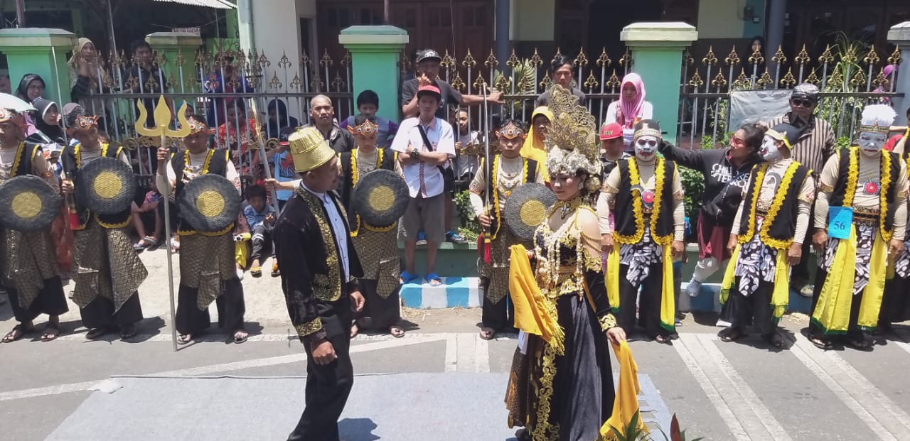 Cultural Parade, The Way Polowijen Community of Malang Say Their Gratitude to the Lord