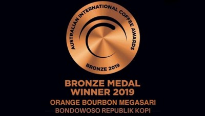 Kopi BRK Sabet Bronze di Australia International Coffe Award
