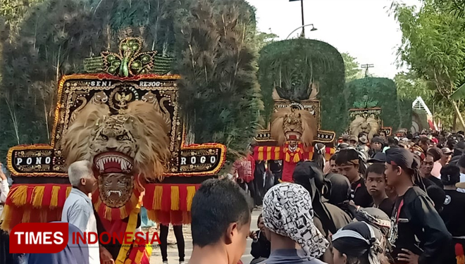 Reog Obyog Has Become an Awaited Monthly Festival in Ponorogo