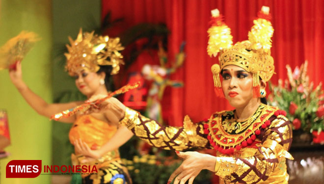 Enjoy Exotic Balinese Dance at 46th Indonesia's Cultural Dining of Hotel Tugu Malang