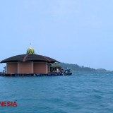 Masjid Al-Aminah, a Floating Mosque at Sari Ringgung Beach