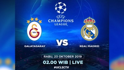 Siaran Langsung dan Link Streaming Galatasaray vs Real Madrid