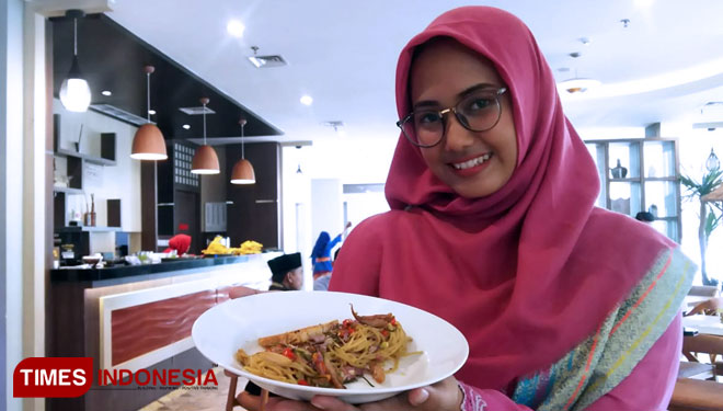 Taste the Delicious and Spicy of Spaghetti Sambel Matah of Hotel @Hom GKB