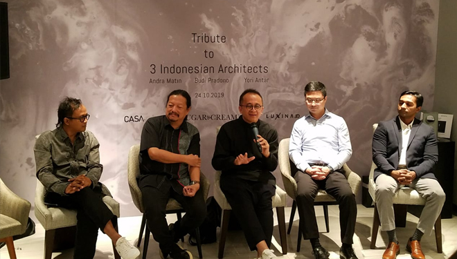 Brizo Kitchen and Bath Together with Le Chatheau Living Give Their Special Product to 3 Indonesian Architects