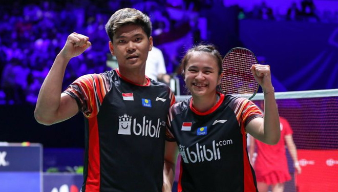 Praveen/Melati Grab Gold Medal at French Open 2019