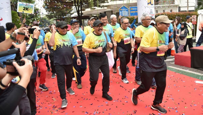 PUPR RI Held Fun Run 5K in Order to Celebrate Indonesian Construction Day 2019