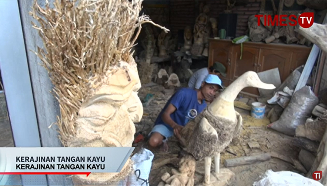 The Wonderful Bamboo Root Carving of Malang