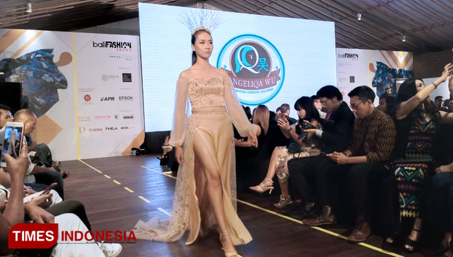 Bali Fashion Trend 2020, Angeliqa Wu Terinspirasi Kisah 'Lost Princess'