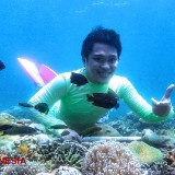 The Millennial Hero of Snorkeling Destination in Gili Ketapang, Probolinggo