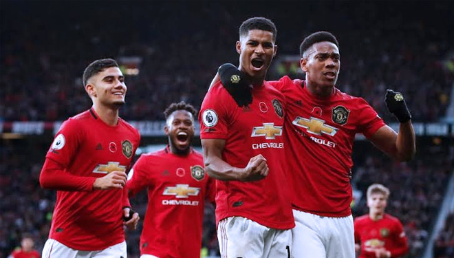 Manchester United vs Brighton,4 Fakta Kemenangan The Red Devils