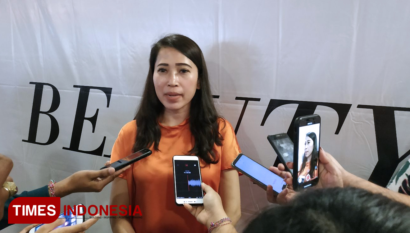 The Manager of Level 21 Mall Bali, Zenzen Guisi Halmis. (FOTO: Imadudin M/TIMES Indonesia)