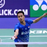 Sukses ke Semifinal Hong Kong Open 2019, Anthony Ginting Sua Jonathan Christie