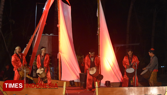 Blang Bleng Percussion Hype Up the Getih Getah Gula Klapa Festival of Blitar