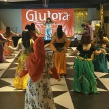 Keseruan Belly Dance Party di Ultah Gluvers Jatim