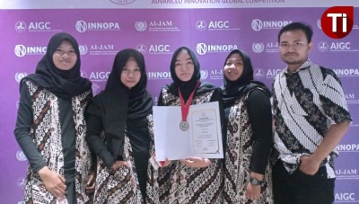 The Students of FKp Unair Surabaya Invented a New Non Chemical Sprue Treatment