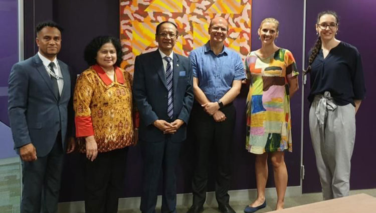 Universitas Pancasila and UNSW Australia will Cooperate in Legal Matters