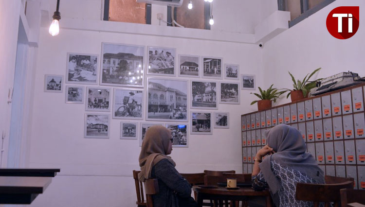 Kopi Pakpos cafe. (Picture by: M. Willian Susilo/DJ TIMES Indonesia)