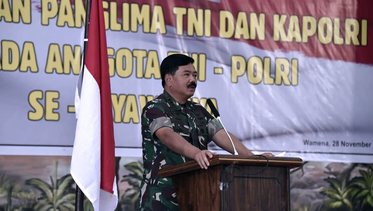 Marshal Hadi Tjahjanto, The Commander of the Indonesian National Armed Forces. (Picture by: Istimewa)