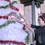 Aston Denpasar Hotel and Convention Center Hotel Reuses 200 Gallons to Make a Wonderful Christmas Tree