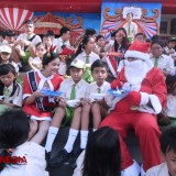 Malang Town Square Took 300 Kids to Have Some Breakfast with Santa