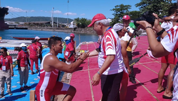 Indonesian Rowing Team Took 10 Gold Medal Home from Sea Games 2019
