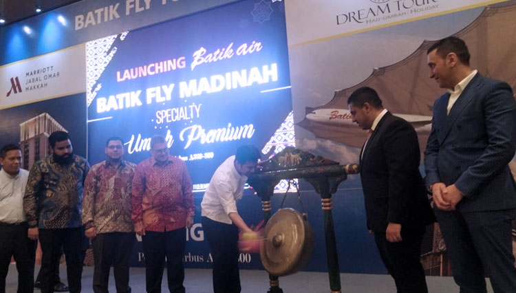 PT Dream Tours & Travel Gandeng Batik Air Buka Rute Penerbangan Perdana ke Madinah