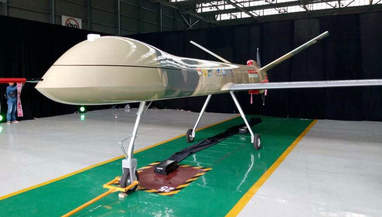 The Black Eagle Drone, Defensive Drone Originated from Indonesia