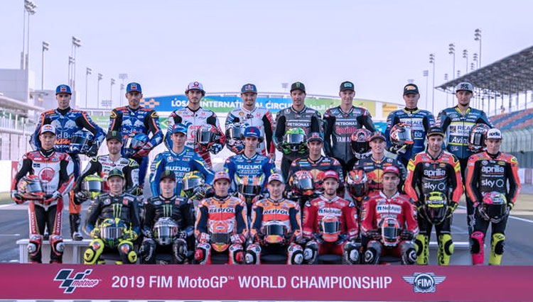 MotoGP Season 2020 Start on 8th March 2020