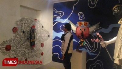 An Empty House in Malang was Turned into an Art Gallery