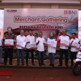 BNI Pasti Hoki Dukung Program Cashless Society BI lewat Gathering Merchant