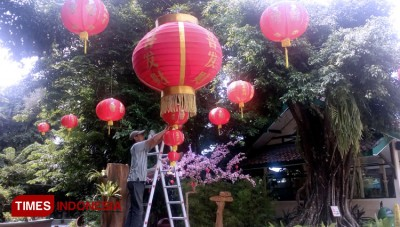 All Red In Gembira Loka Zoo to Celebrate the Chinese New Year