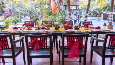 Enjoy Chinese Megibung at Ubud Hotel to Celebrate the Chinese New Year