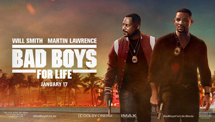 'Bad Boys for Life' Tak Goyah di Puncak Box Office AS