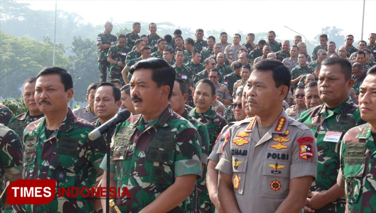 TNI Commander Bottom Lined The Strong Bound Between TNI-Polri