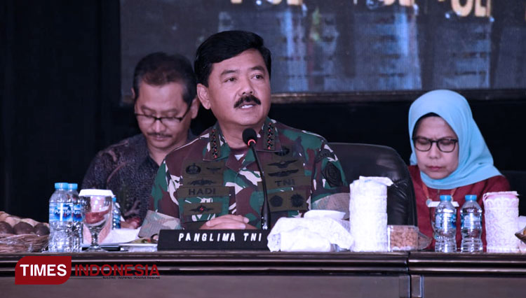 TNI Commander will Propose to Raise the Number of Defense Equipments