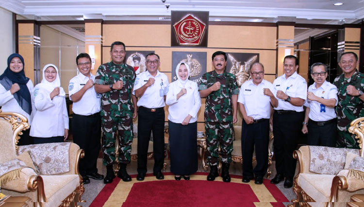 TNI Commander Signed an MoU with Meteorology, Climatology, and Geophysical Agency