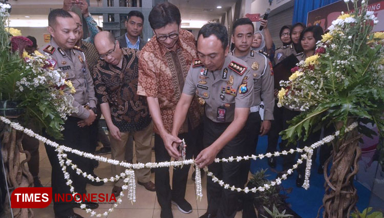 Polrestabes Surabaya Buka SIM Corner di Mall BG Junction