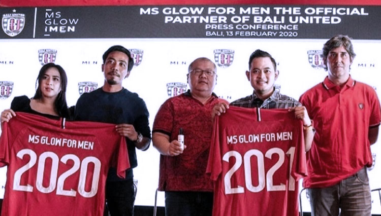 MS Glow For Men Becomes the Official Sponsor of Bali United FC