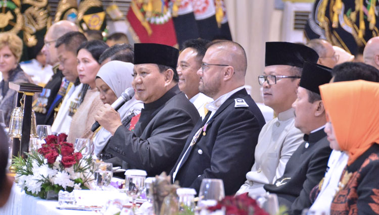 Demi Jalin Hubungan Baik, Menhan Prabowo Gelar Defence Attache Dinner 2020