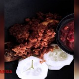 The Delicious and Juicy Taste of Fried Chicken with Candlenut of Kofluck Coffee