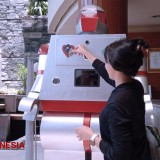 Bentani Hotel Cirebon, a Futuristic Hotel with Robot at the Receptionist Desk